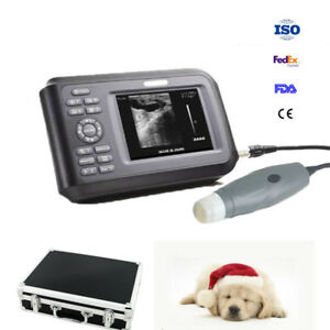 45w Veterinary Wristscan Ultrasound Scanner Machine Handscan For Animals Cat Dog