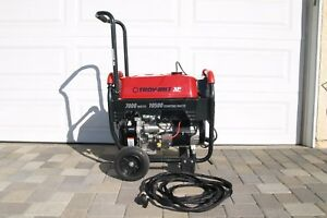 Troy bilt Xp 7000 Generator 10 500 Starting Watts Low Hours Well Maintained