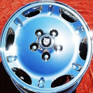 Set Of 4 Chrome 16 Jaguar Xj6 Xj8 Xj8l Xj12 Xjs Oem Factory Wheels Rims 59687