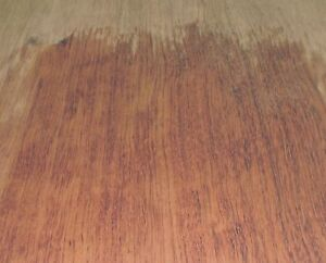 Bubinga African Wood Veneer 6 X 68 Raw With No Backing 1 42 Thickness a