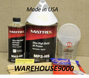 Mp3 Hs Ultra High Build 2k Urethane Primer Surfacer Similar To P50 32430s K38