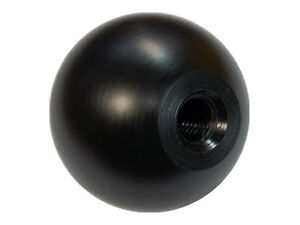 New 50mm Black Delrin Manual Shift Knob Fits Honda Crx M10x1 5