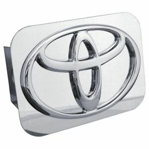 Toyota Chrome Stainless Steel 2 Trailer Tow Hitch Cover