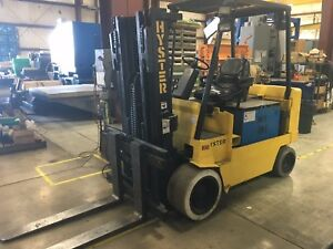 Hyster E100xl 10000 Lbs Electric Forklift
