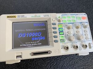 Rigol Ds1102d 2ch 16ch Logic Analyzer Capable 100mhz 1gsa s Oscilloscope Scope