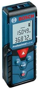 Bosch Glm40 Laser Distance Measurer Meter 131 Feet 40 Meters New