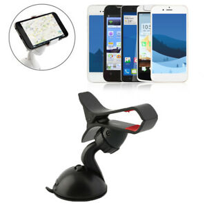 360 Car Windshield Dashboard Mount Cradle Holder Stand For Phone Gps Universal