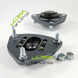 Pillowball Front Camber Plates Strut Mount For Hyundai Genesis Coupe Coilover