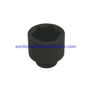 1 Drive 55mm Impact Socket 6 Point Trident T950055