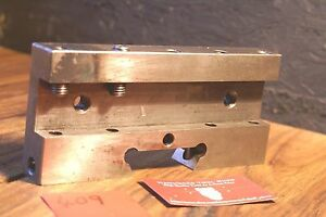 Warner Swasey M 3076 Dovetail Tool Holder Carbide Screw Machine Automatic
