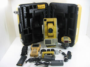 Topcon Gpt 9003a Robotic Total Station Fc 2200 Data Collector 1 Month Warranty