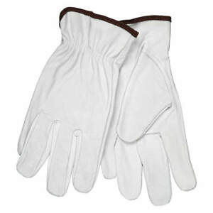 Cowhide Leather Work Gloves Dozen W Keystone Thumb Size Xl