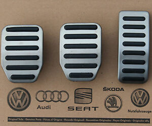 Vw Amarok Pedal Caps Pedal Set Covers For Manual Cars Oem 09 17