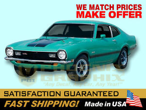 Compatible With 1970 Maverick Grabber Decals Stripes Kit