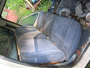 86 Ford Ranger Straight Bench Seat Core Local Pick Up No Shipping