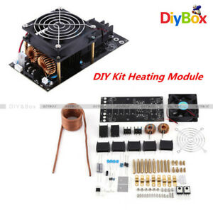 Dc12 36v 1000w 20a Zvs Induction Heating Board Module Heater Cooling Fan Diy Kit