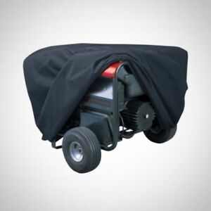 Generator Cover Accessory Part Black X large Water Resistant Integrated Storage