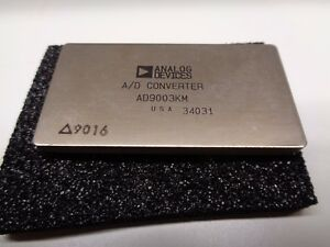 Analog Devices Ad9003km 12 bit A d Converter Used