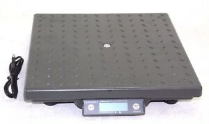 Fairbanks Shipping Scale Ultegra 14x14 Flat Top 150 Lbs Capacity W Usb