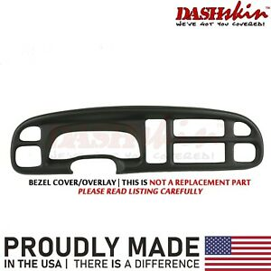 99 00 01 Dodge Ram Dash Bezel Cover Instrument Cluster Gauge Trim Skin Cap