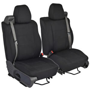 Custom Fit Seat Covers For Ford F 150 2004 08 Front Pair 3 Color Built In Seat