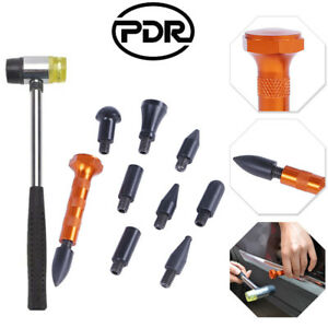 Pdr Tools Paintless Dent Removal Auto Body Hail Dent Glue Sticks Tap Down Hammer