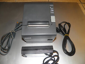Epson Tm t88iv Thermal Point Of Sale Receipt Printer Power Supply Usb