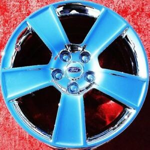 Set Of 4 Chrome 18 Ford Mustang Gt Factory Oem Wheels Rims 3647