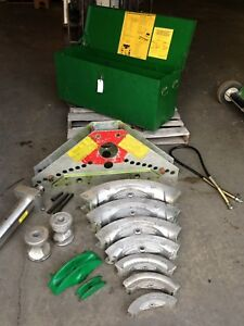 Greenlee 884 Hydraulic Bender Rigid Pipe Conduit Hand Or Electric Pumps Avail
