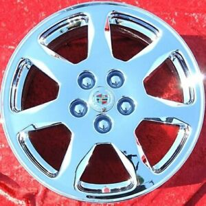 Set Of 4 Chrome 17 Cadillac Cts Seville Oem Wheels Rims Sts Dts Deville 4564
