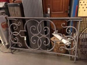 Blacksmith Copper Plated Wrought Iron Railings Balcony Balustrade Hand Hewn
