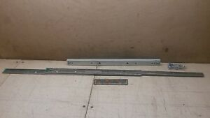 20 Full Extension Ball Bearing Drawer Slides Quick Disconnect Clb 307 20 145 lb