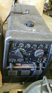 Lincoln Commander 400 Welder 300 Ft Leads With Suitcase Ln25 Welder