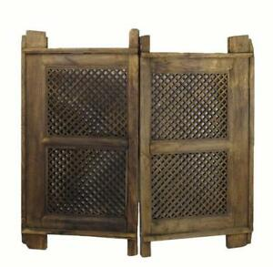 A Pair Of Antique Chinese Screen Window