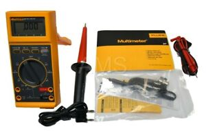 Fluke 27 Fm W 85rf Probe 80k 6 Hv Probe New Leads Manual