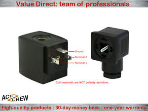 Solenoid Coil 110v 120v Ac Vac For Ace Crew Brass Normally Closed Electric Valve