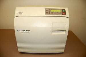 Ritter Midmark M11 Autoclave Ultraclave Automatic Sterilizer 1 Year Warranty
