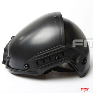 FMA Tactical Airsoft CP Helmet Two-In-One Protective Paintball Helmet TB391 BK