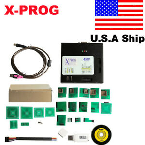 Usa Ship Latest Version X prog V5 60 Obd2 Ecu Programmer Xprog m With Usb Dongle