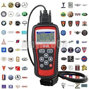 Kw808 Obdii Obd2 Eobd Car Automotive Engine Fault Code Reader Diagnostic Scanner