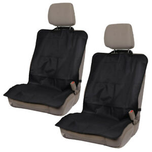 Front Car Seat Protectors Waterproof Covers For Workout Pets Gym Hiking 2pc