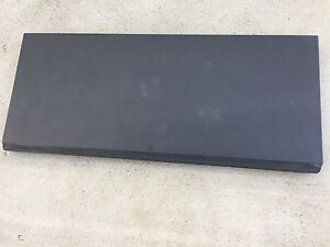 02 2012 Chevy Avalanche Escalade Ext Hard Top Tonneau Cover Panel 1 Black Good