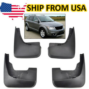 Mud Flaps Splash Guards Molded Mudguard For Dodge Journey 2011 2018 Front Rear