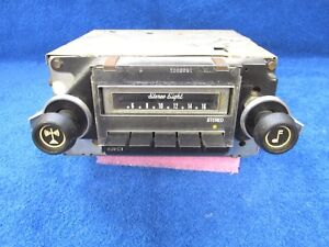 1971 1975 Chevy Olds Impala Caprice Am Radio Stereo Eight 8 Track Player 1117