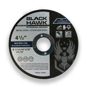100 Pack 4 1 2 X 1 16 X 7 8 Cut off Wheels Metal Stainless Steel Cutting Disc