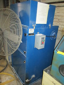 Donaldson Torit 80 Cab 115 208 230v 1ph 60 Hz 1 5 Hp Bag Type Dust Collector