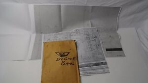 Cole Gasoline Engine Blueprints 1 1 4 Bore X 1 7 8 Stroke Hit And Miss Model
