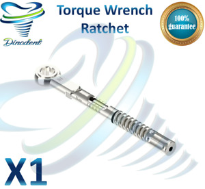 Torque Wrench For Dental Implant Implants Surgical Instrument Tools Free Ship