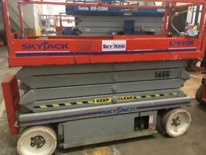 2007 Skyjack Sj3226 Electric Scissor Lift