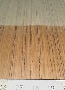 Teak Composite Wood Veneer 24 X 96 With Paper Backer 1 40th Thickness efw
